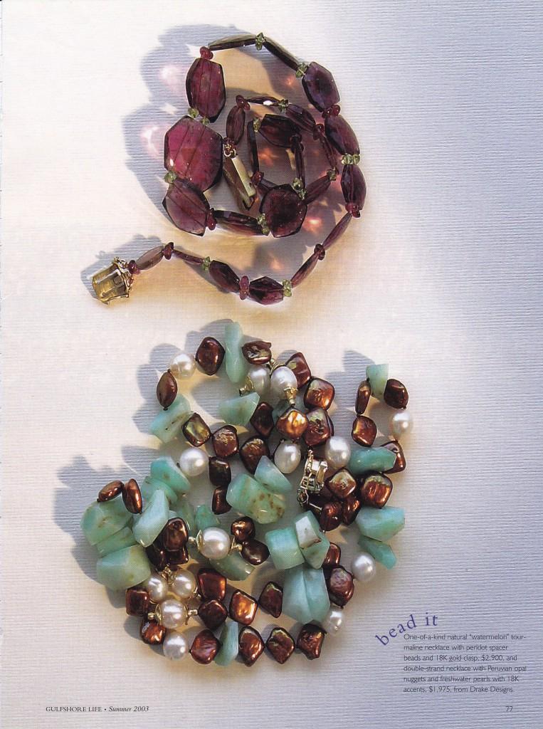 Jewelry Queen's Wreath, Christofle, Tuscany, Stubben, Mikimoto