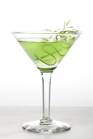cuke-martini